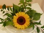 Sonnenblume in der Kreativpraxis von Regina Liedtke