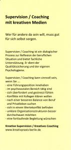 Supervision, Coaching