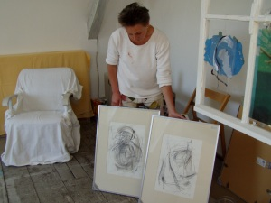 Atelierfoto Regina Liedtke