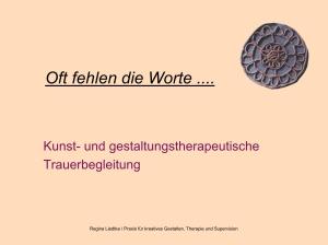 Titelbild Trauer, Copyright R.Liedtke