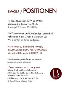 Einladung Künstlerhof 2019, mittel